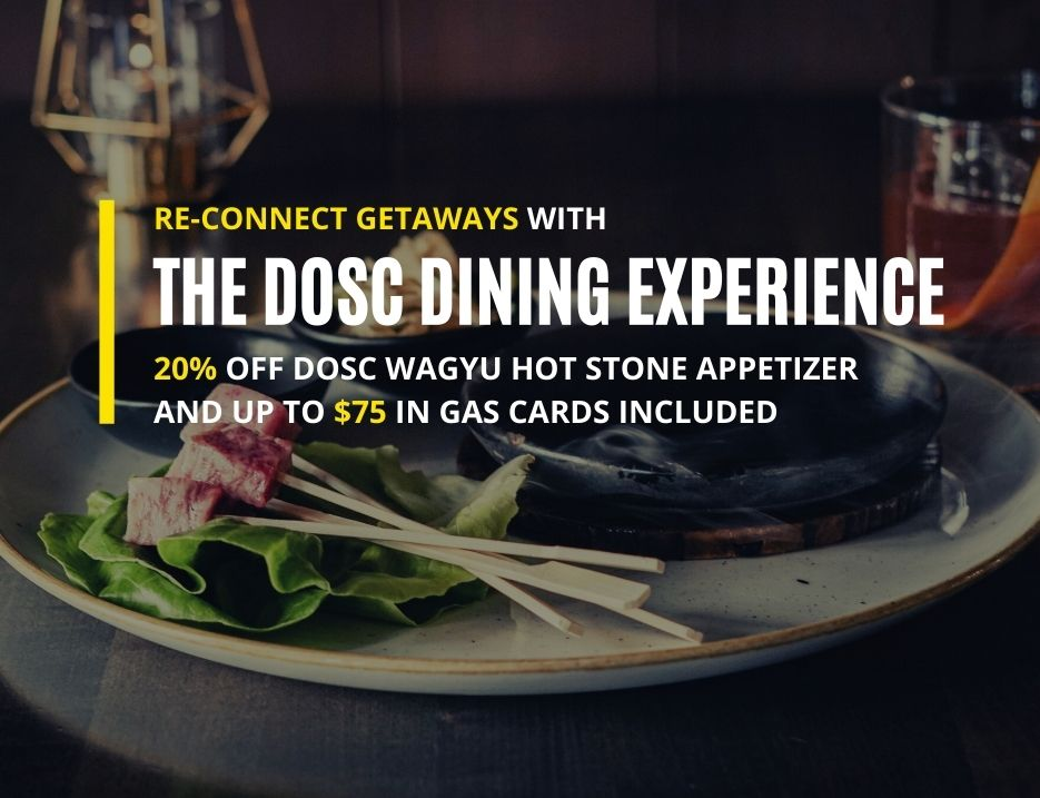 Book the DOSC Dining Experience